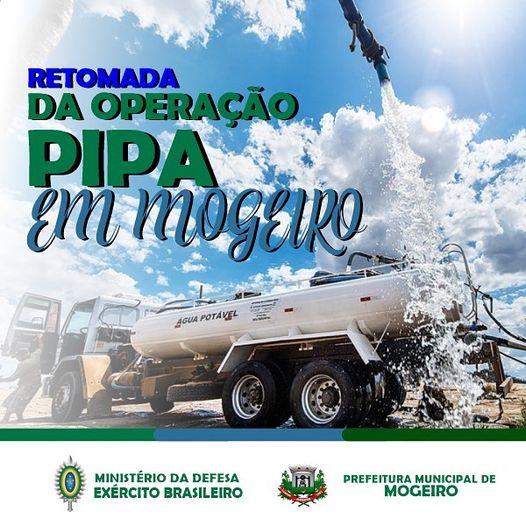 Operação Pipa, do Exército Brasileiro, retorna abastecimento nas comunidades do município