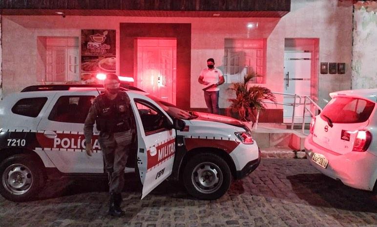 Vigilância Sanitária e Polícia Militar realizam operação Previna-se