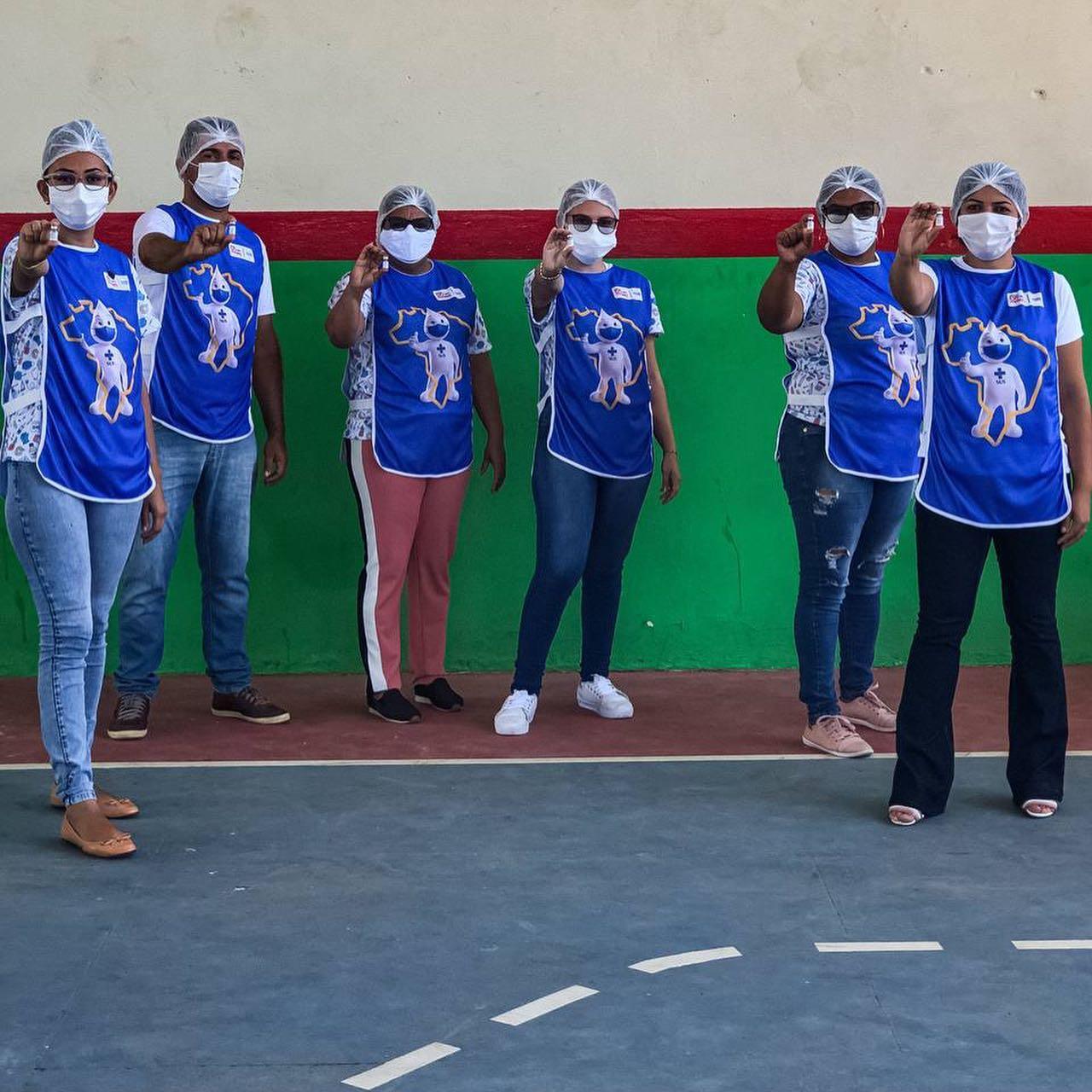 Equipes de profissionais seguem empenhadas na campanha de vacinação contra a Covid-19