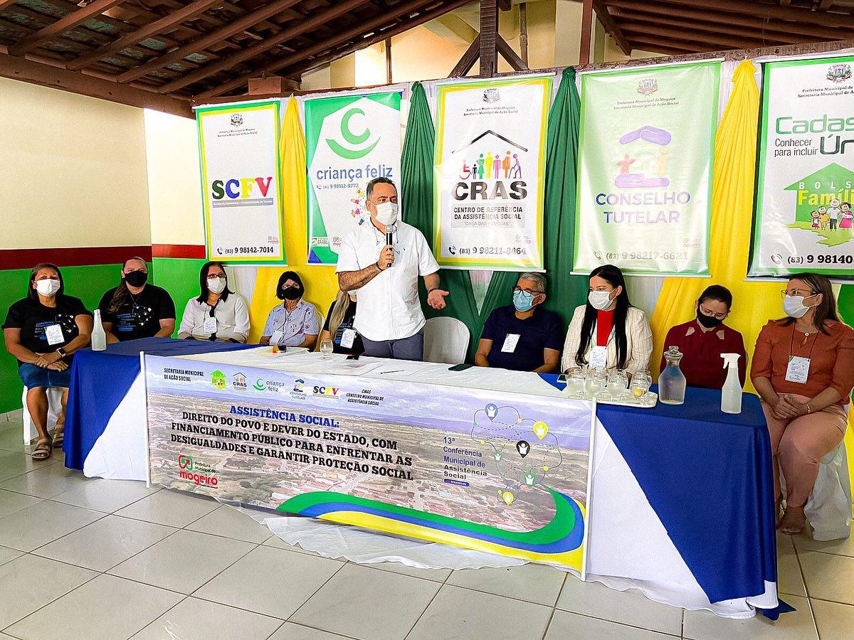 Secretaria Municipal de Ação Social realiza a 13ª Conferência Municipal de Assistência Social
